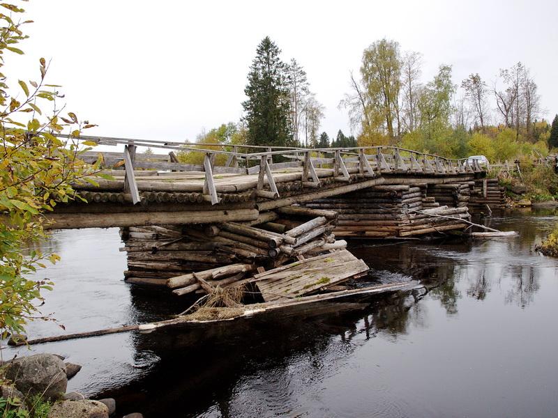 Деревянные мосты